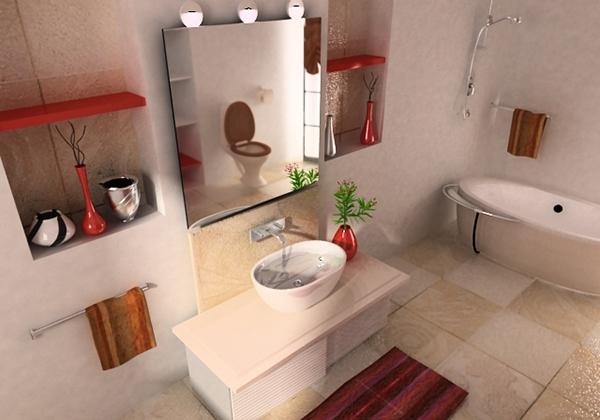 Contoh Desain Kamar Mandi Rumah Minimalis Terbaru