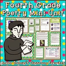 http://www.teacherspayteachers.com/Product/Poetry-Mini-Unit-Fourth-Grade-Test-Prep-229925