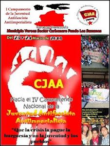 Cartel del Campamento Antifascista Yaracuy 2013