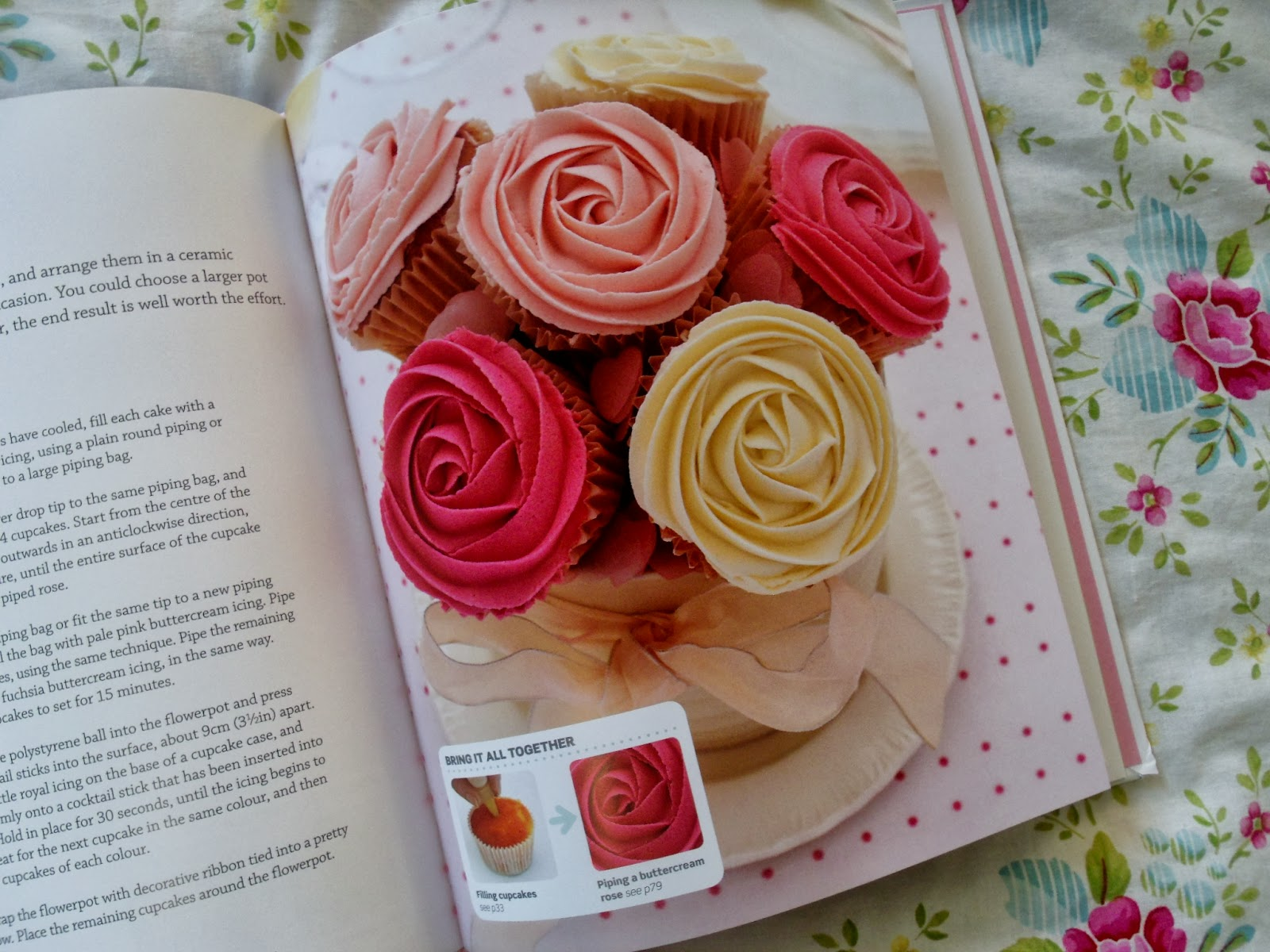 Cake Decorating Step By Step Book : Step by Step Cake Decorating Book & Giveaway   Victoria ...