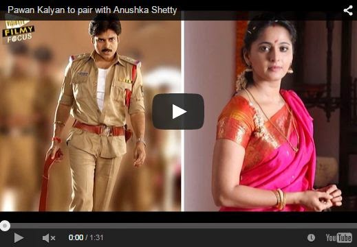 Pawan Kalyan to pair with Anushka Shetty | Latest Telugu News | HD Videos
