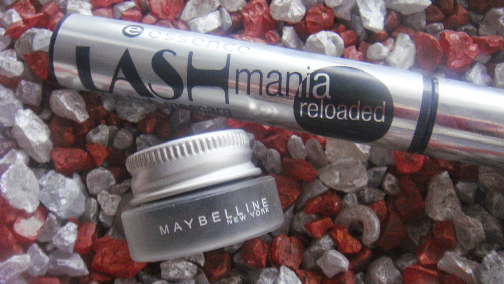 Essence Lashmania Reloaded + Maybelline Eyestudio Lasting Drama Gel Eyeliner 24H.