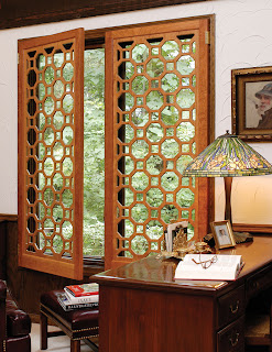 Fretwork Window Screens