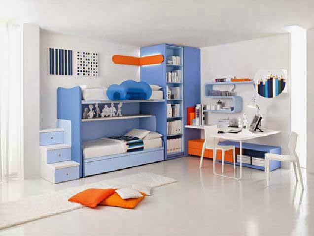gambar desain ruangan tidur anak informasi utama