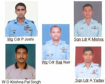 5 officers killed IAF's C-130J Hercules Helicopter Crash