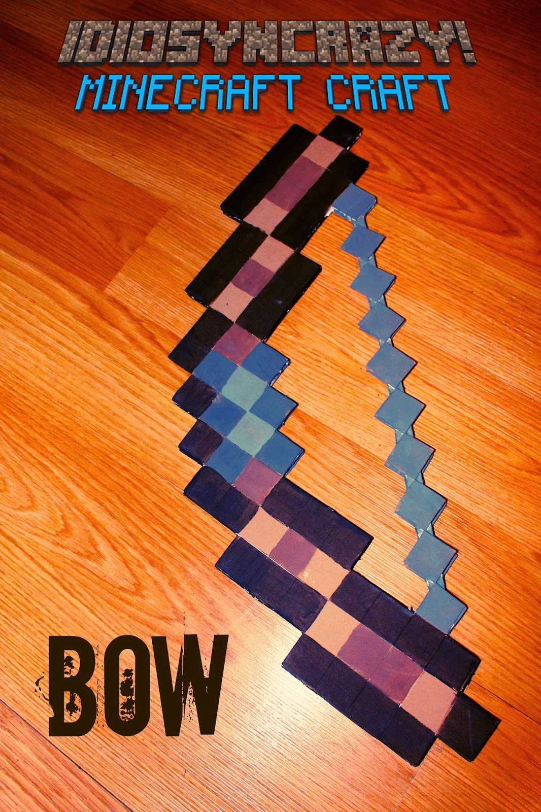 minecraft how to make a bow