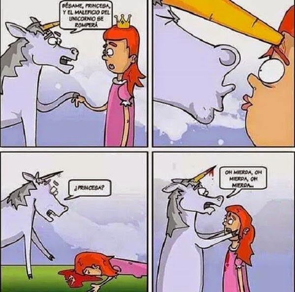 Besar al unicornio