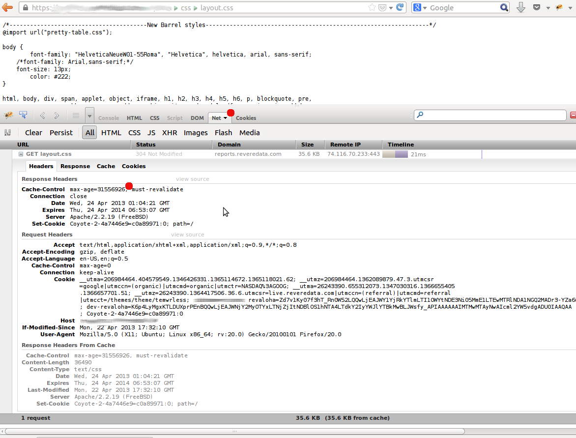 The uphill struggle for freedom cleaning cache for apache by how to get this in firebug addon of firefox ccuart Images