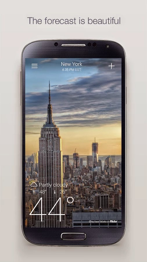Yahoo! Weather v1.2 Build 91590737