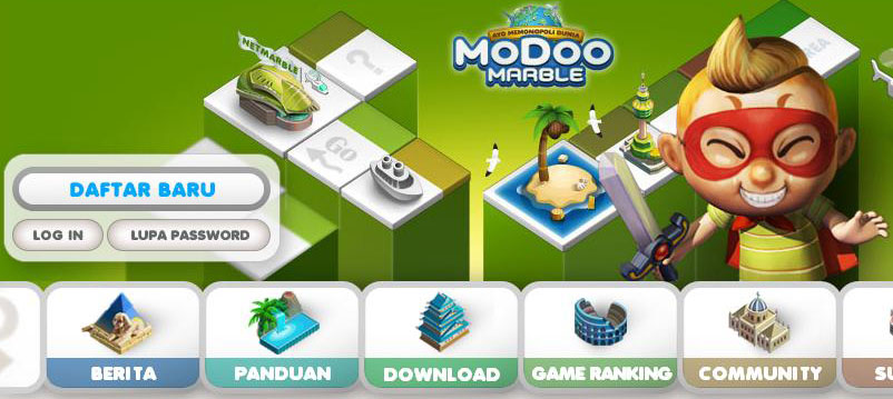 ^Cara Buat ID Modoo Marble Monopoly Online