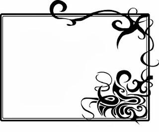 Gambar Bingkai Hitam Putih Untuk Presentasi Power Point