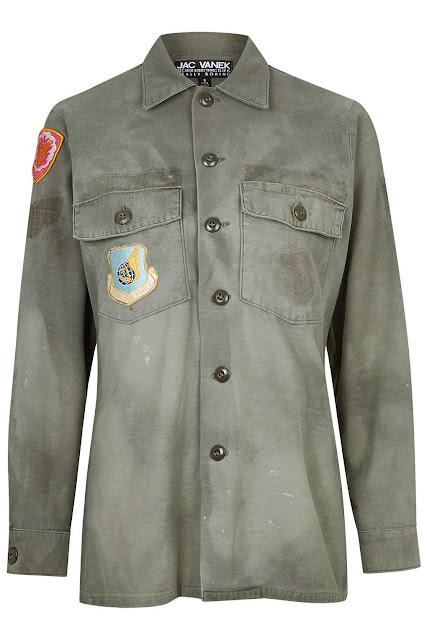 jac vanek army shirt