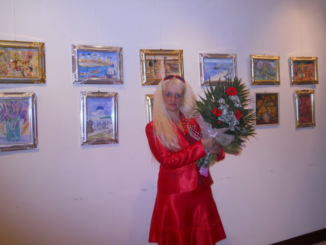 vernisaj - flori rosii
