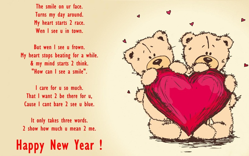 Happy New Year Love Greeting