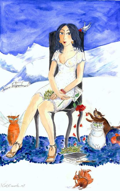 """"""" L'hiver """" autoportrait"""