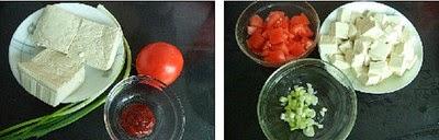 Cách làm đậu phụ xốt cà chua đơn giản mà ngon 1
