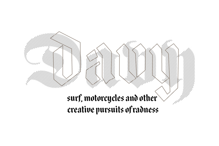 DAVY: Surf, Motorcycles & Lifestyle