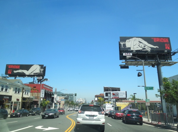 Bridge series premiere billboards