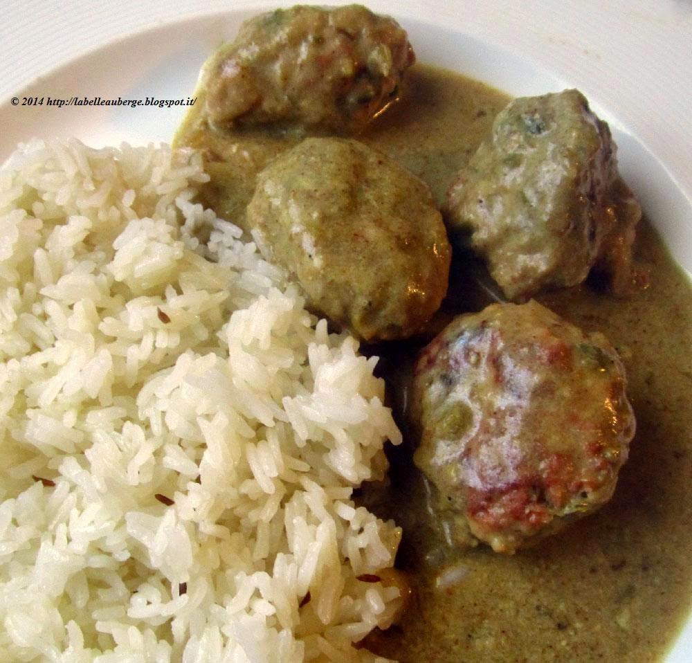 Ricette polpette di carne al curry