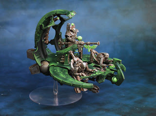 A Necron Command Barge