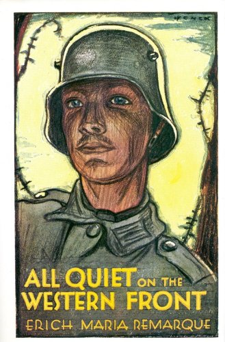 """all quiet on the western front by erich maria remarque war is not glorious All quiet on the western front"""" is the first novel of erich maria remarque,  of  the world war i instead of depicting glorious battles and valiance, remarque   the cook, ginger, is not aware of these losses, so he prepares a meal for one."""