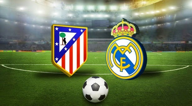 "Derby ""Atletico Madrid vs Real Ma   drid"" Liga Spanyol 2015"