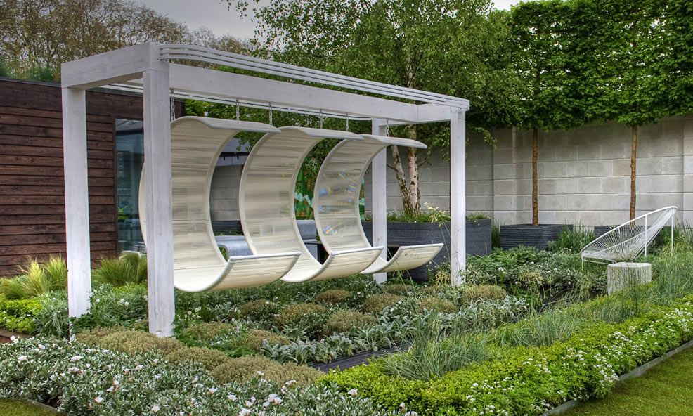 Roof Top Garden color outside the lines: book review: rooftop garden design