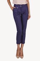 Pantaloni Bad Axel albastrii din in MERNI14 (Ama Fashion)
