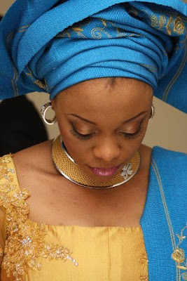 WEDDING: Gorgeous Yoruba bride.