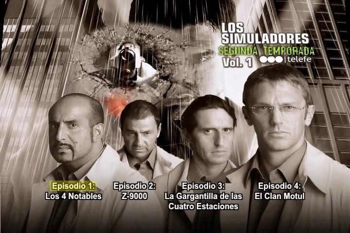 Los Simuladores: Serie Completa (2002-2004) [6 DVD5] 28,8 GB