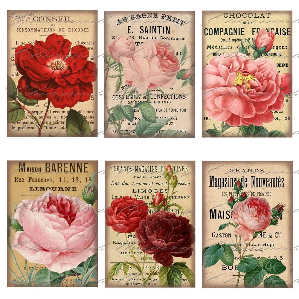 Mi baul del decoupage la rosa especial - Laminas antiguas para cuadros ...