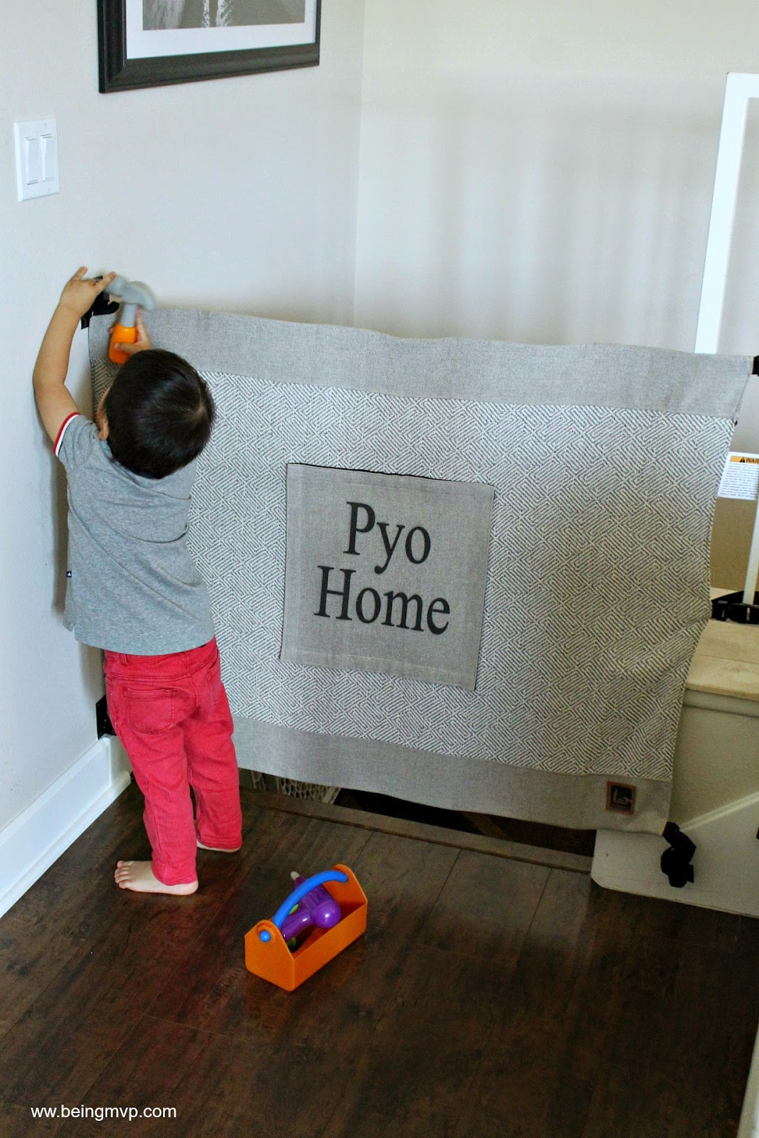 being MVP: Keeping Kids Safe with The Stair Barrier + #Giveaway