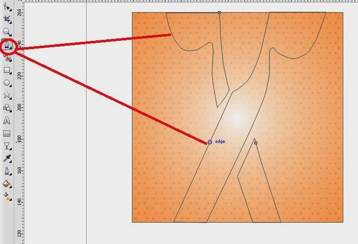 Tutorial lengkap corel draw X4 cara buat logo barbershop