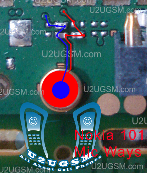 Cell Firmware  Nokia 101 Mic Problem Jumpers Ways Solution