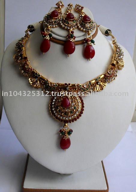 Designer indian jewelry polki fashion jewelry indian jpg