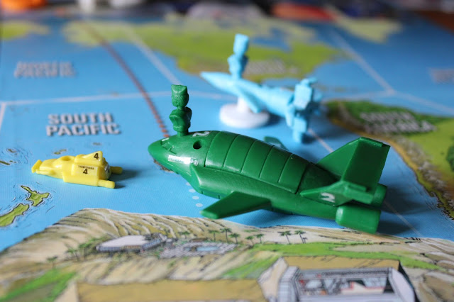 Thunderbirds Co-operative Board Game - Thunderbirds 1, 2 and 4