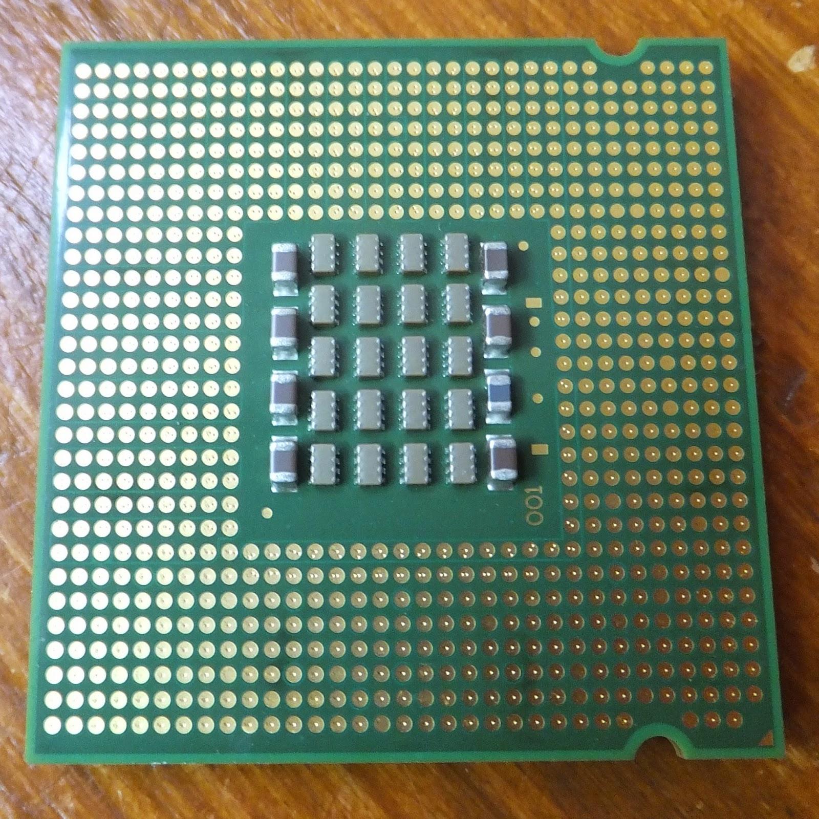 Intel Pentium D 820 @2800MHz