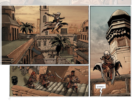 Detalle de Assassin´s Creed vol.1 - Desmond by Éric Corbeyran y Djillali Defali
