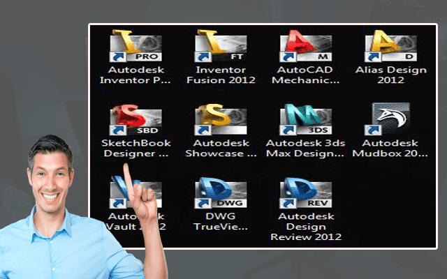 الحصول على حزمة ضخمة من برامج شركة Autodesk مجانا و بطريقة قانونية. %D8%A7%D9%84%D8%AD%D