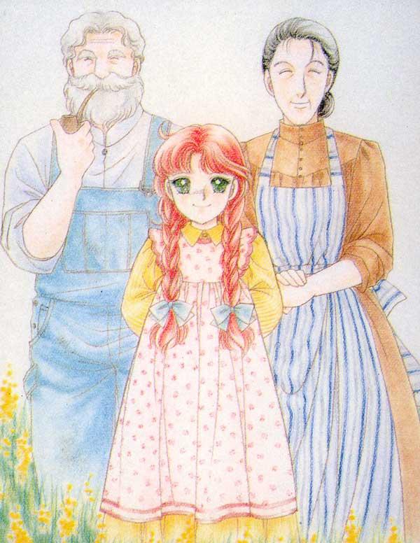 Georgiana s garden anna dai capelli rossi by yumiko igarashi