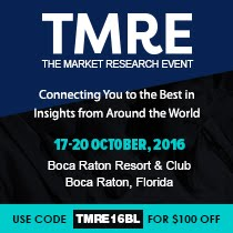 See you at The Market Research Event this fall!