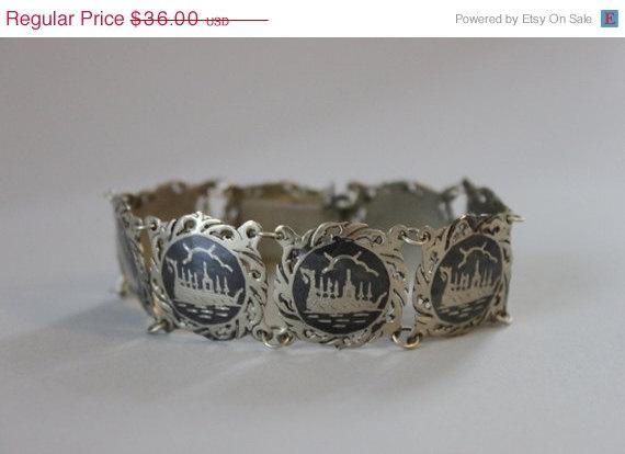 Siam Silver Bracelet Vintage2