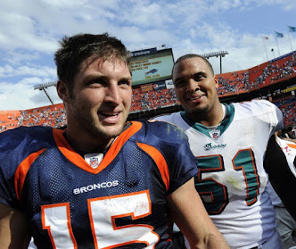 Tebow and Pouncey