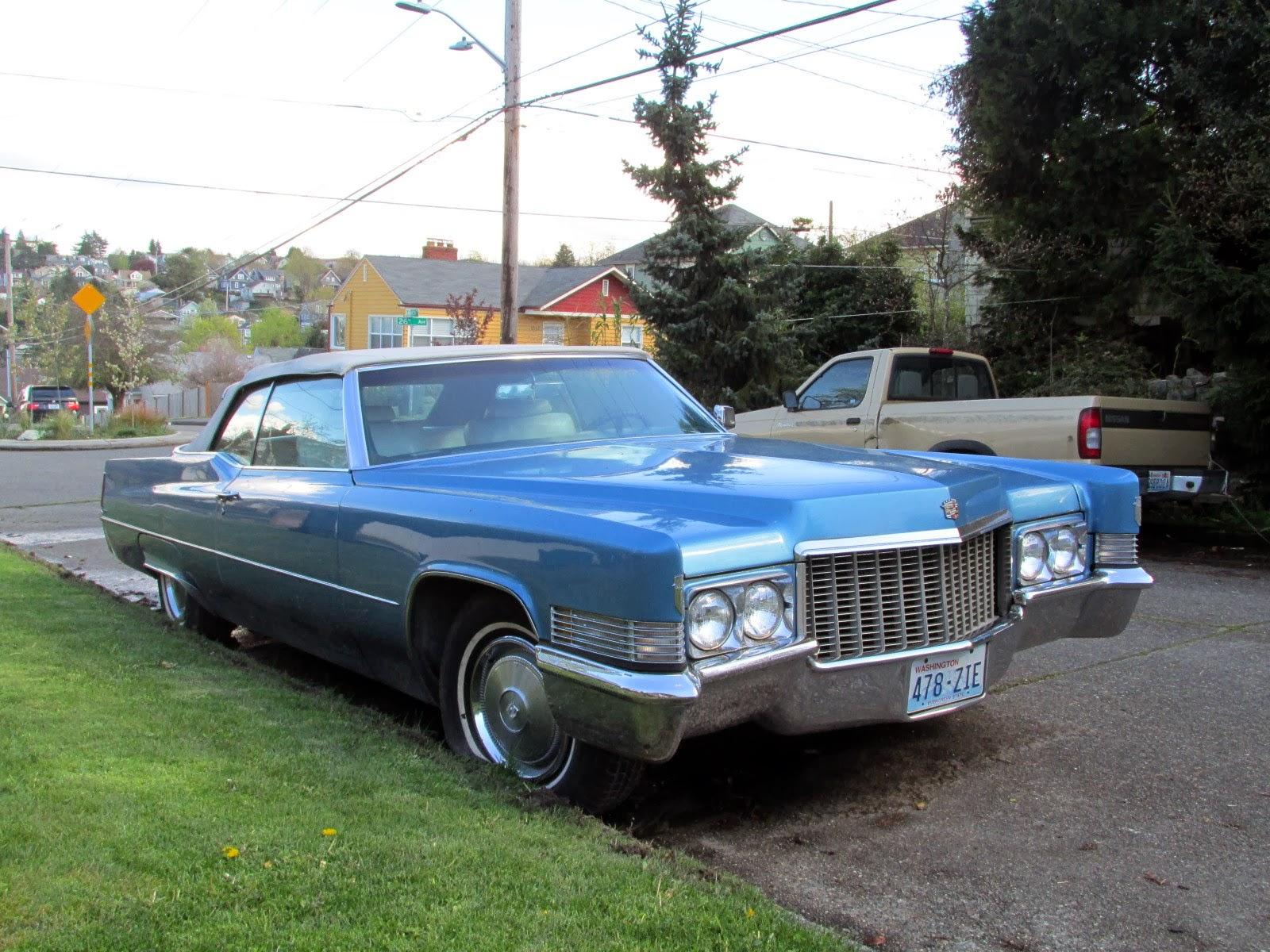 Seattle S Classics 1970 Cadillac Deville Convertible