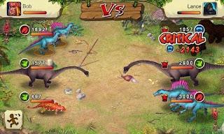 Dinosaur War v1.3.0 APK: game đại chiến khủng long (hack tiền không cần root)