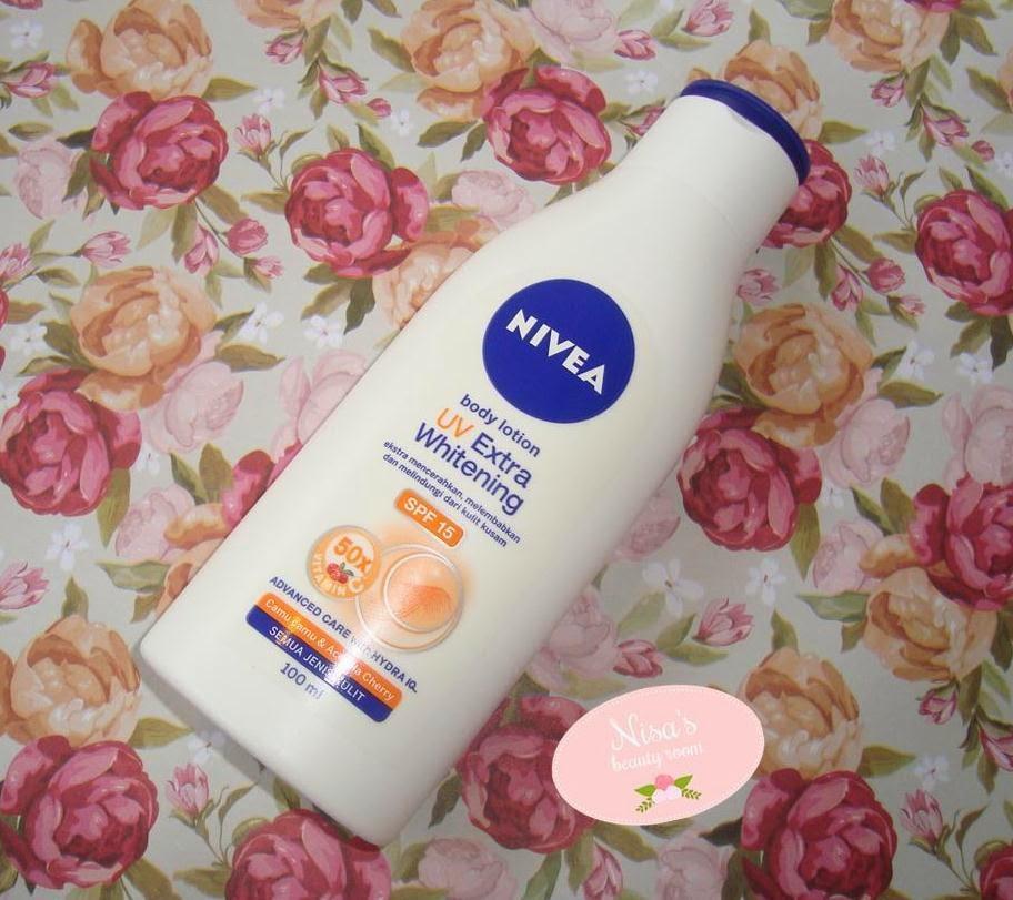 Review Nivea Night Whitening Body Serum