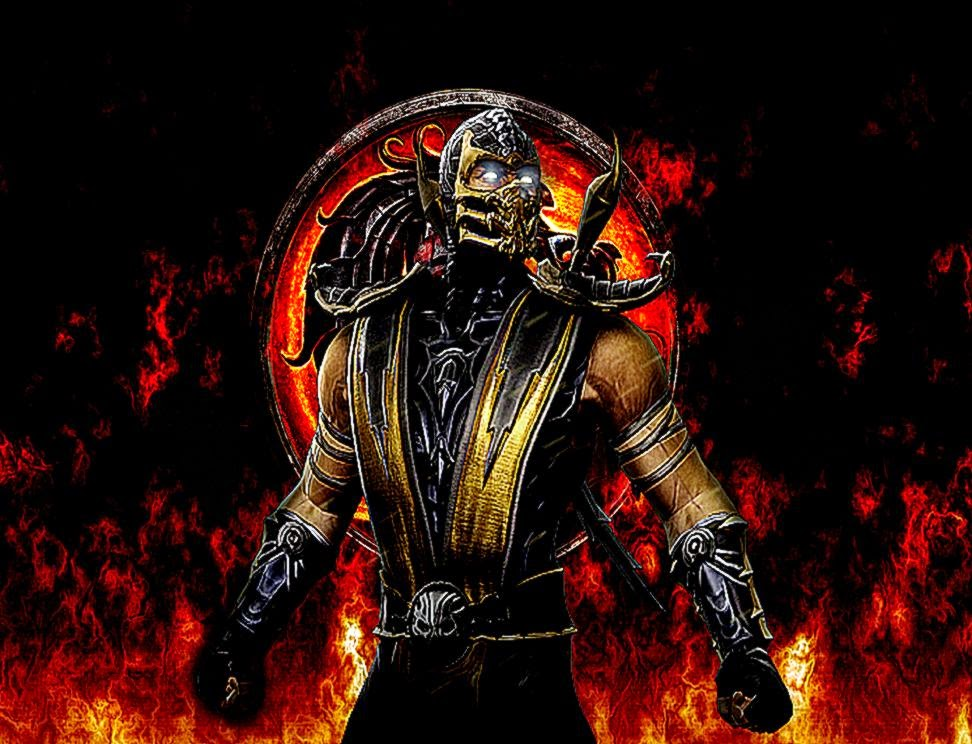 mortal kombat scorpion wallpaper cool hd wallpapers
