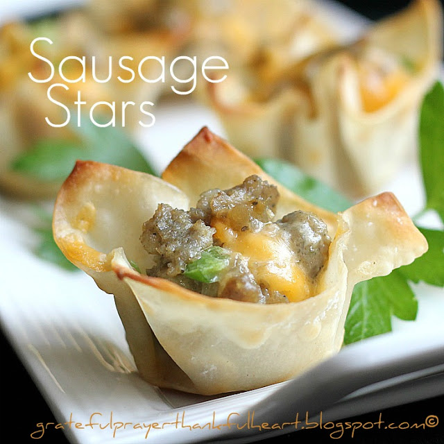 Sausage Stars Appetizers