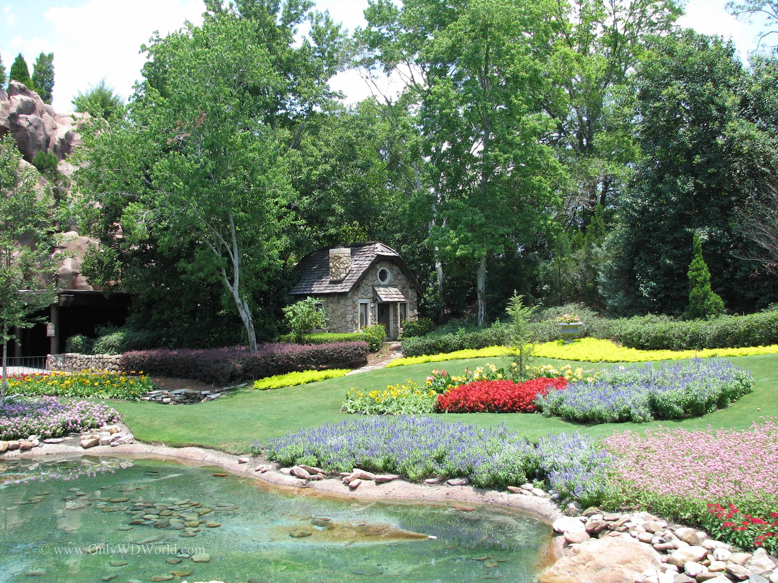 Victoria gardens in disney worlds epcot pay tribute to the the year round landscaping in epcot is amazing with no area more impressive than the victoria gardens that can be found in the world showcase canada thecheapjerseys Choice Image