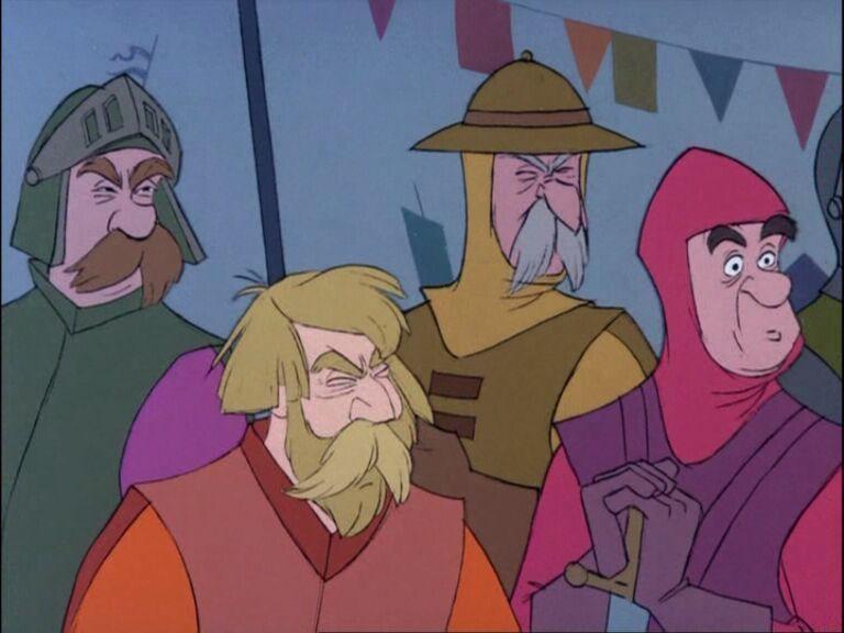 Spectators Sword in the Stone disneyjuniorblog.blogspot.com